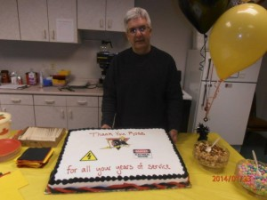 Rubelke Retires from Minot Inspections